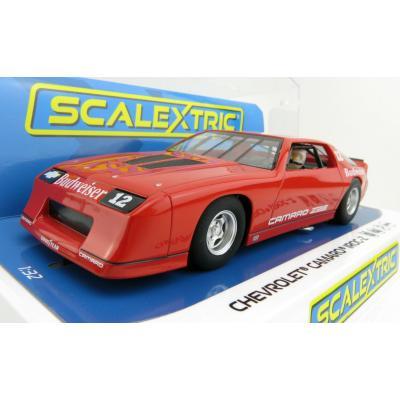 Scalextric C4073 Chevrolet Camaro IROC-Z Red Slot Car 1:32 Scale