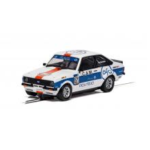Scalextric C4150 Ford Escort MK2 RS2000 Gulf Edition Slot Car 1:32 Scale