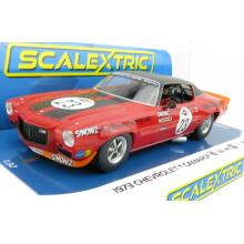 Scalextric C4216 1973 Chevrolet Camaro - SPA 24 Hours James Hunt Slot Car 1:32 Scale