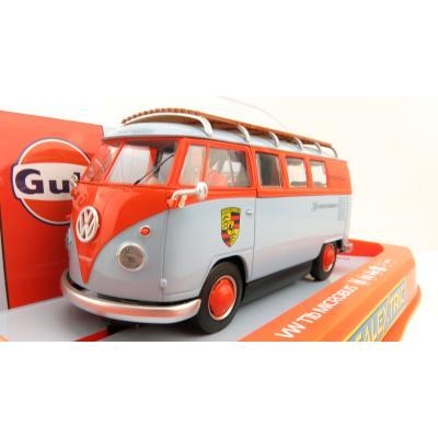 Scalextric C4217 VW Volkswagen Panel Van T1B - ROFGO Gulf Collection - JW Automotive Slot Car 1:32 Scale