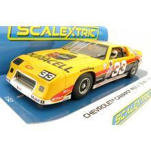 Scalextric C4220 Chevrolet Camaro IROC - SCCA Trans-AM Number 33 Slot Car 1:32 Scale