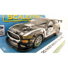 Scalextric C4221 Ford Mustang GT4 Academy Motorsport 2020 Slot Car 1:32 Scale