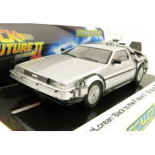 Scalextric C4249 DeLorean - Back to the Future 2 Slot Car 1:32 Scale