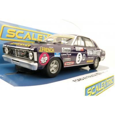 Scalextric C4263 Ford XY GTHO Falcon Phase III Bathurst 1972 No 5 John French Slot Car 1:32 Scale