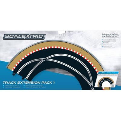 Scalextric C8510 - Track Extension Pack 1 Curve - Scale 1:32