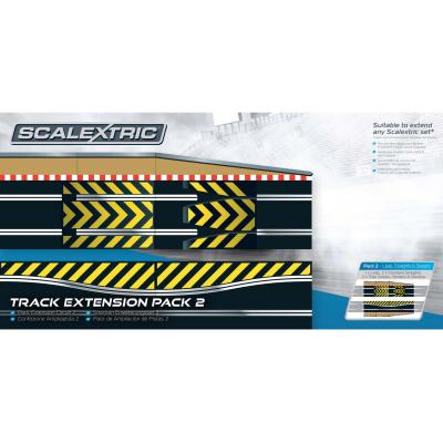Scalextric C8511 - Track Extension Pack 2 - Ramp and Side Swipe - Scale 1:32