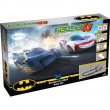 Scalextric F1003 - SCALEX43 Batman vs Joker Slot Car Race Set - Scale 1:43