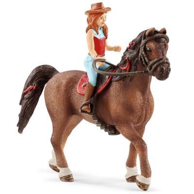Schleich 42411 - Hannah & Cayenne - Quarter Horse Gelding