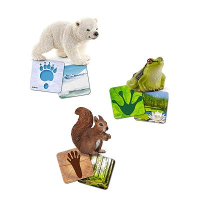 Schleich 42474 Wild Life flash cards - Wild Life