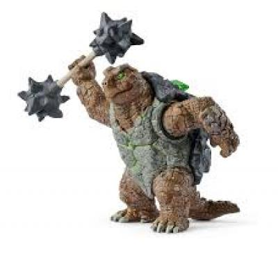 Schleich 42496 - Armoured turtle with weapon - Eldrador Creatures