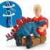 Schleich 41465 - Tyrannosaurus Rex Attack - Dinosaurs - New Item 2020