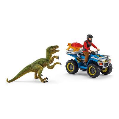 Schleich 41466 - Quad escape from Velociraptor - Dinosaurs