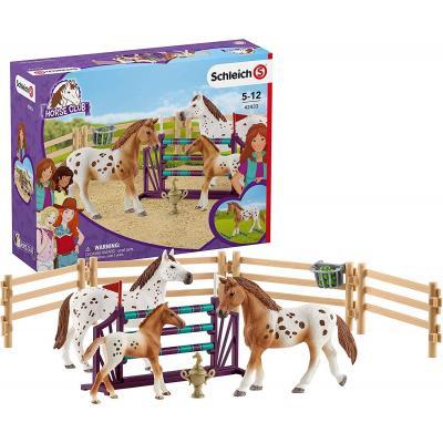 Schleich 42433 - Lisa's Tournament Training - Horse Club