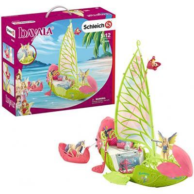 Schleich 42444 - Seras magic elf boat & unicorn foal - bayaia