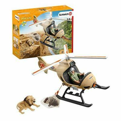 Schleich 42476  - Animal Rescue Helicopter - Wild Life New 2020