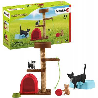 Schleich 42501 - Playtime for Cute Cats  - Farm World