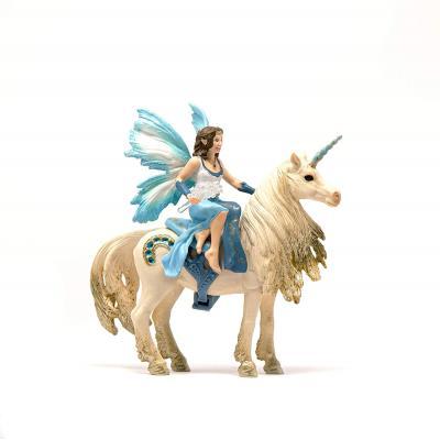 Schleich 42508 - Eyela riding on golden Unicorn