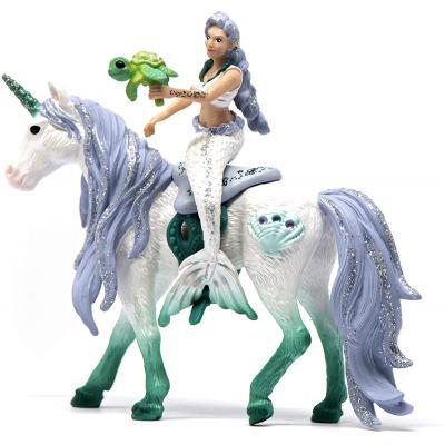 Schleich 42509 - Bayala Mermaid riding on sea unicorn