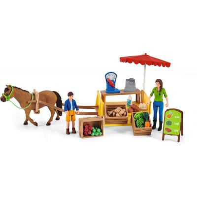 Schleich 42528 -  Sunny Day Mobile Farm Stand - Farm World