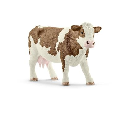 Schleich 13801 - Simmental Cow