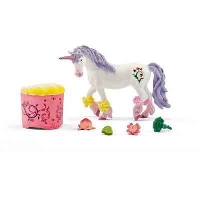 Schleich 42173 Unicorn and Pegasus care and feed set