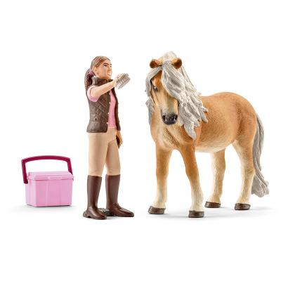 Schleich 41431 - Horse Groom with Icelandic Pony Mare
