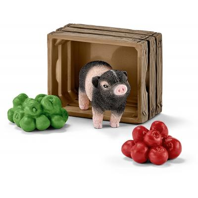 Schleich 42292 Mini-Pig with Apples