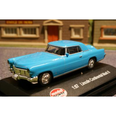 Model Power - Lincoln Continental Mark II  Blue - H0 Scale 1:87