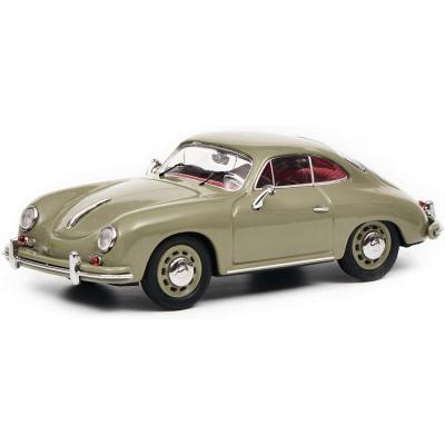 Schuco 450260200 Porsche 356 A Coupe Grey - 750 only - Scale 1:43