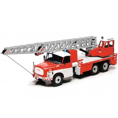 Schuco 450375700 TATRA T148 Mobiel Crane Truck Fire Department Scale 1:43