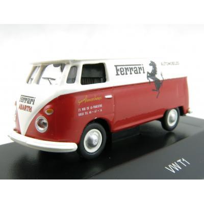 Schuco 452628800 VW T1 Box Truck Ferrari Automobili Francorchamps - H0 1:87
