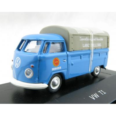 Schuco 452634000 Volkswagen VW T1C Lanz Bulldog Pickup Scale H0 1:87