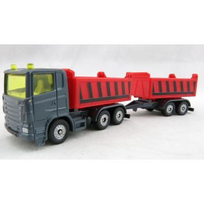 Siku 1685 - Scania Dump Truck and Tipper Trailer - New 2019