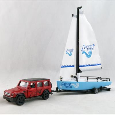 Siku 2564 - Mercedes Benz AMG G65 with Sailing Boat - Scale 1:50 New 2019
