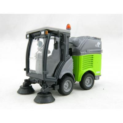 Siku 2936 - Hako Mini Road Sweeper Green Version 2019 - 1:50 Scale