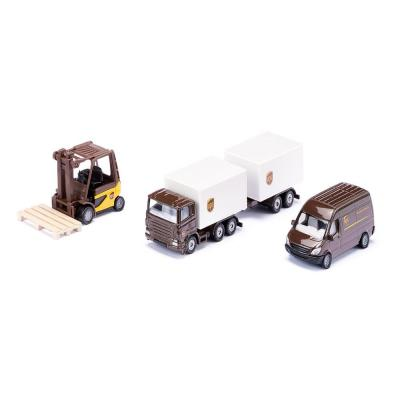 Siku 6324 - UPS Logistics Set - New 2019