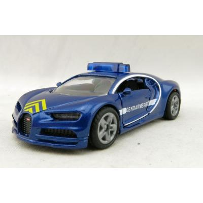 Siku 1541 - Bugatti Chiron Sports Car Gendarmerie Police -  New Item 2020