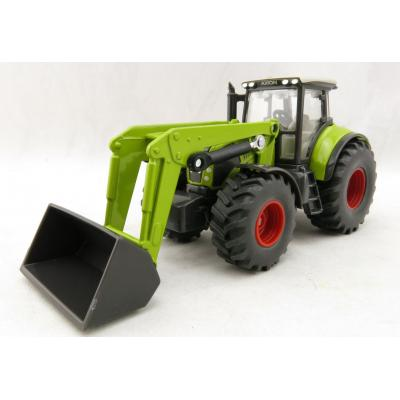 Siku 1979 Claas Axion Tractor with Front Loader - Scale 1:50