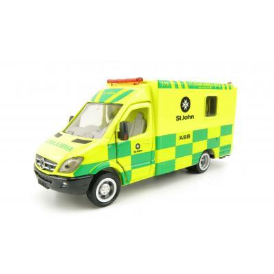 Siku 2108 NZ 1:50 Mercedes Benz Sprinter St. Johns Ambulance New Zealand 2020 Version Scale 1:50