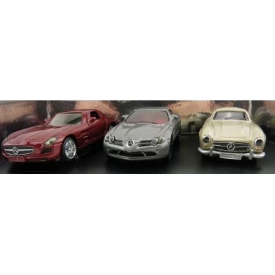 Siku 621400702 - Mercedes Gift Set 2 Classic Car Limited Edition