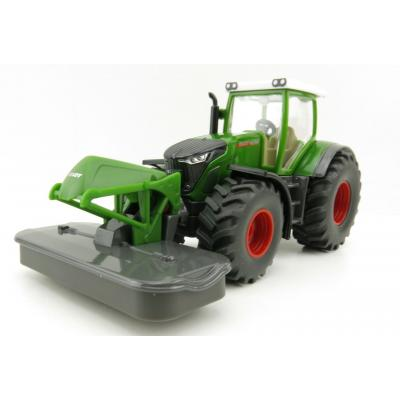 Siku 2000 - Fendt 942 Vario Tractor with Front Mower - New 2021 - Scale 1:50