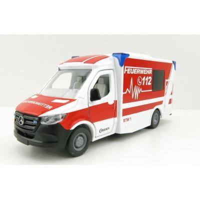 Siku 2115 - Mercedes-Benz Sprinter Miesen Type C Ambulance  - Scale 1:50 - New 2021