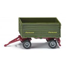 Siku 1077 - 2 Axeled Fortuna Trailer