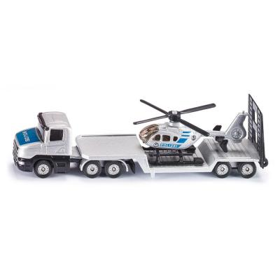 Siku 1610 - Scania Low Loader with Police Helicopter