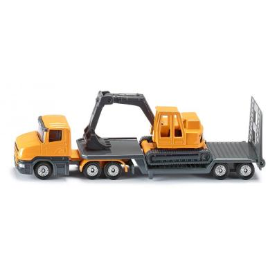 Siku 1611 - Scania Low Loader with Excavator