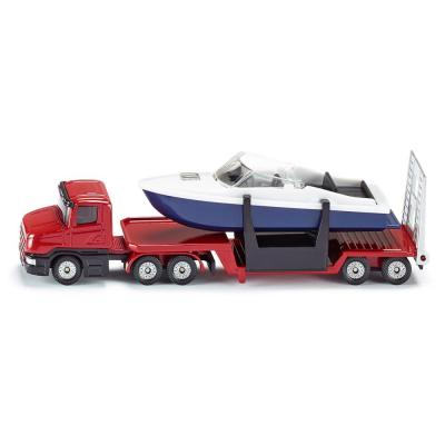Siku 1613 - Scania Low Loader with Speed Boat