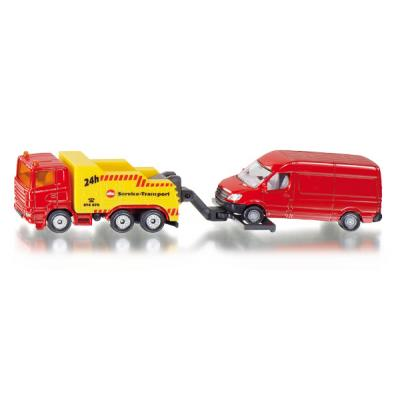 Siku 1667 - Scaina Breakdown Truck with Vehicle