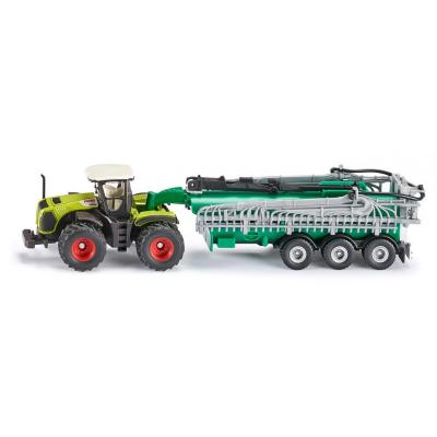 Siku 1827 - CLAAS Xerion 5000 Tractor and Samson Slurry Vacuum Tanker - 1:87