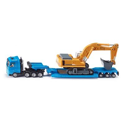 Siku 1847 - MAN TG-A Heavy Haulage Transporter with Liebherr 974 Excavator -  Scale 1:87