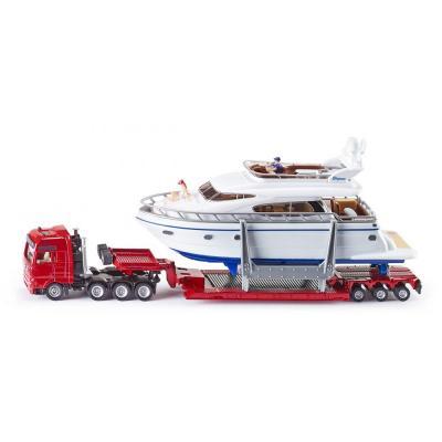 Siku 1849 - MAN TGA Heavy Herlage Transporter With Drettmann Yacht -  Scale 1:87